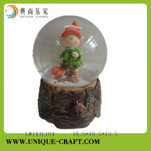 Cute smurf figure resin craft for home decorations