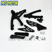 Motorcycle parts motorcycle foot pegs For Yamaha YZF-R1 YZF R1 2007 2008 Black