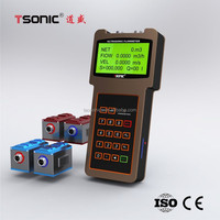 transit-time handheld ultrasonic water flow meter