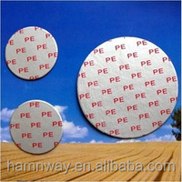 glass bottle induction cap seal liner for dairy