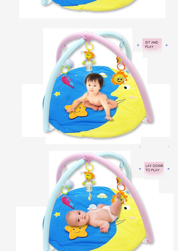 Round Big Baby Play Mat