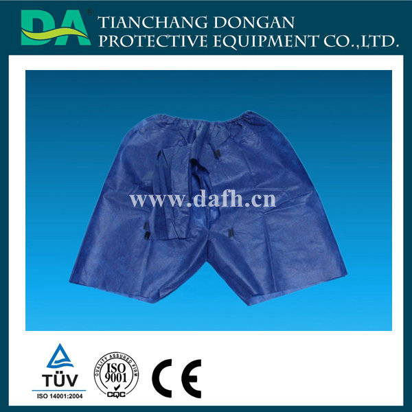 Disposable Medical Exam Pants for Colonoscopy and Endoscopy