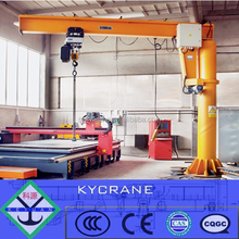 Stand Column Small Jib Crane with 270 Rotate Degree, 1ton 2tons 3tons 5tons Electrical Workshop Used Jib Crane