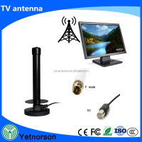 Portable Indoor high Gain Digital TV Aerial / Outdoor Digital Antenna for USB TV Tuner / ATSC Television / DAB Radio - With Magn