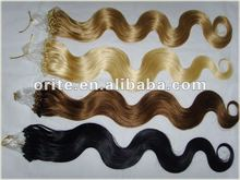100%Human Hair Loop Hair Extension Wholesale Price Cheap Micro Bead Hair Extension