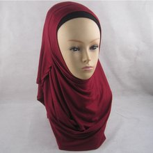 Collection Design Easy Wear Fancy Muslim Scarf Women Hijab Two Faces Instant Shawl