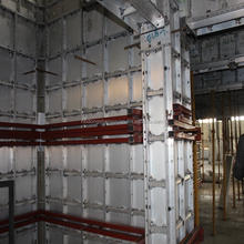 aluminum formwork system concrete wall metal forms metal steel flat tie,wall tie system