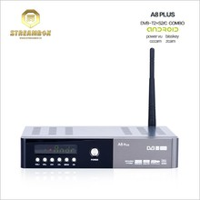 European HD Satellite Receiver with Sporting IPTV Channels DVB T2+S2+C Set Top Box Wifi
