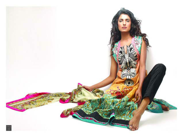 Sadia Designer Lawn Collection 2013 For Women