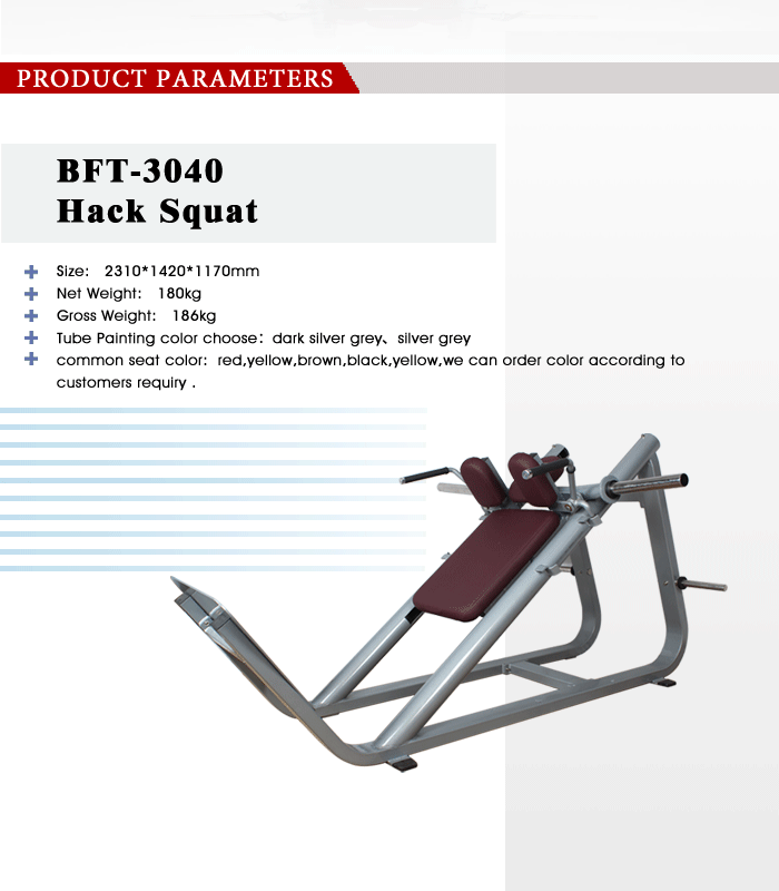 professional leg press hack squat gym machine/leg press machine for sale