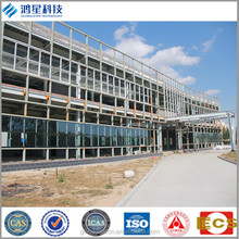 prefabricated steel structure shopping mall/supermarket steel building/prefab exhibition Building