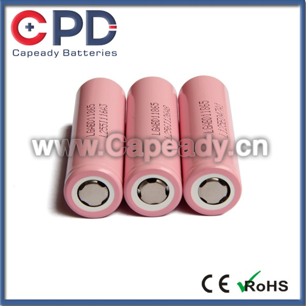 High drain 18650 LG 18650D1 battery LGABD1 3000mAh 3.7v LG 18650 D1 Li-ion rechargeable battery