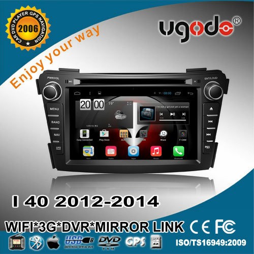 DASH BOARD Android CAR DVD for HYUNDAI I40 2012 WITH DUAL CORE 1080P V-20 DISC WIFI 3G TV
