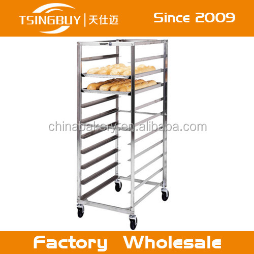 Eco-friendly and durable stainless steel rack shelving