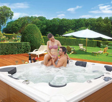 6 People Massage Spa Bathtub Jacuzzi Function