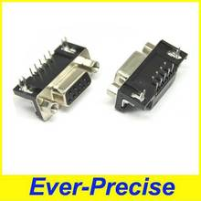 90 Degree Right Angle 9pin DIP Female D-SUB Connector