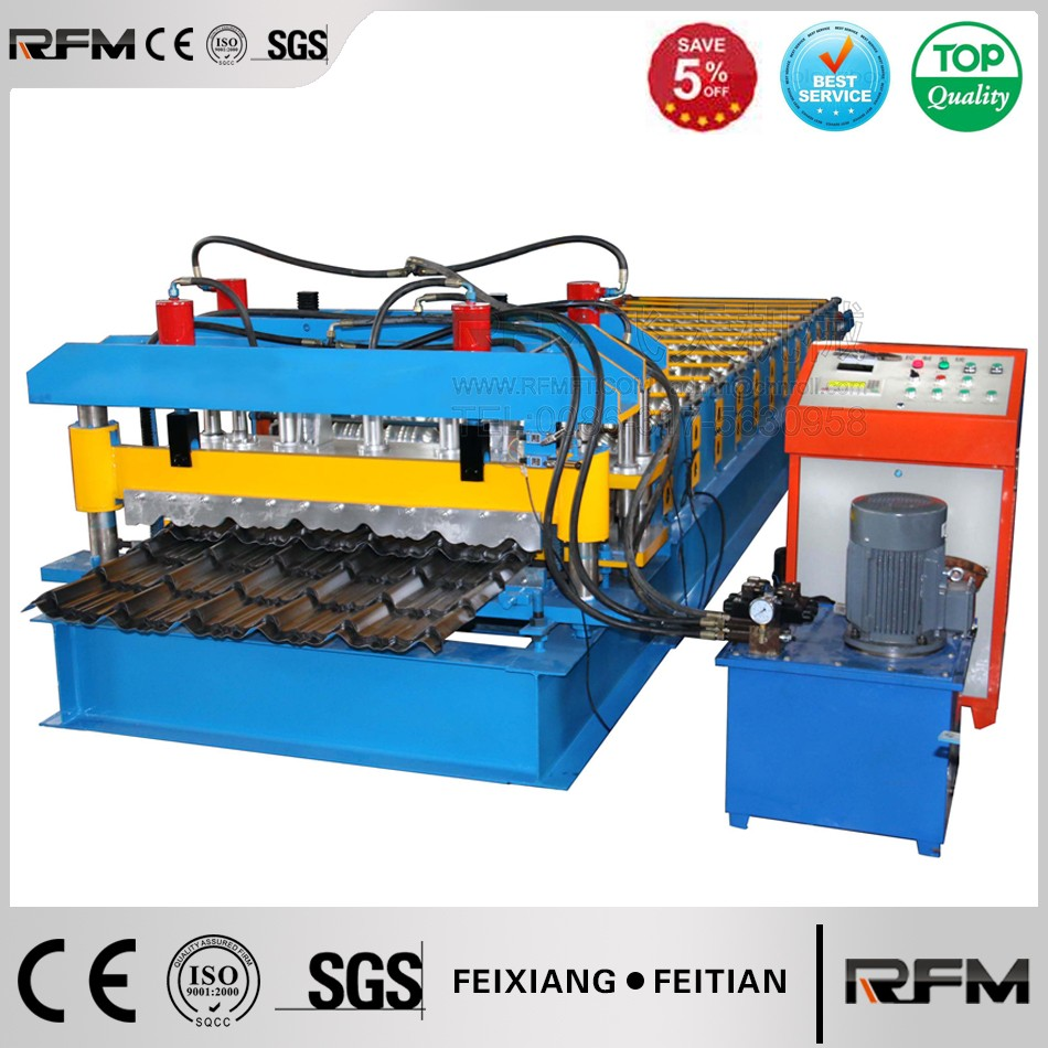 machines for manufacturing ceramic glazed steel tile sheet