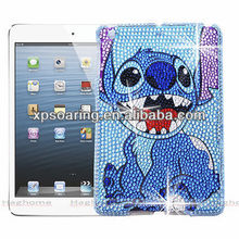 Diamond Stitch hard case cover for ipad mini