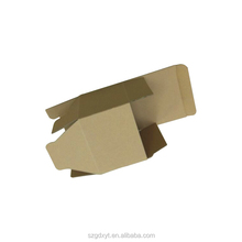 cheap brown kraft paper cardboard shipping box with lid