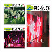 full color led video displays waterproof led advertising panels curve led curtain screen