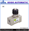 AS series flow control adjustable air pneumatic throttle valve
