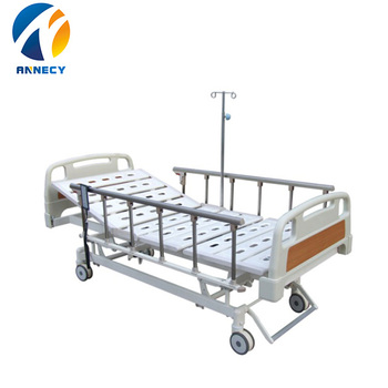 AC-EB020 Patient bed Product name Metal Material popular 3 functions manual hospital bed accessories