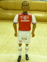 Walcott custom action figure football player, Theo Walcott football player action figure, custom soccer player action figure