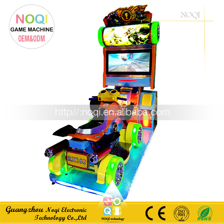 NQN-004 factory direct sale kids motor simulator driving game machine coin operated racing game machine free download