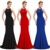 Starzz 2016 New Sleeveless Backless Elegant Red Long Formal Evening Dress ST000089-2