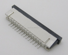1.0MM PITCH 2.5H 14PIN ZIF DRAWER TYPE BOTTOM CONTACT SMT FPC CONNECTOR FOR PDA POS MACHINE