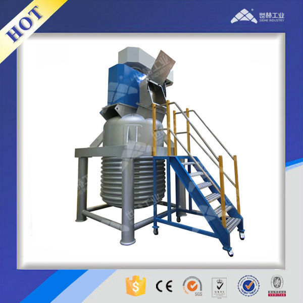 high speed mixer for building paint with platform with CE