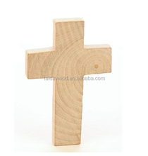 Factory cheaper hot selling Unfinished Wooden Crosses for Painting and Crafting