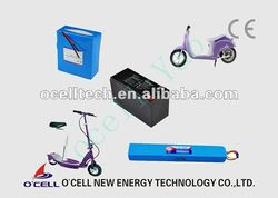 lithium electric scooter battery