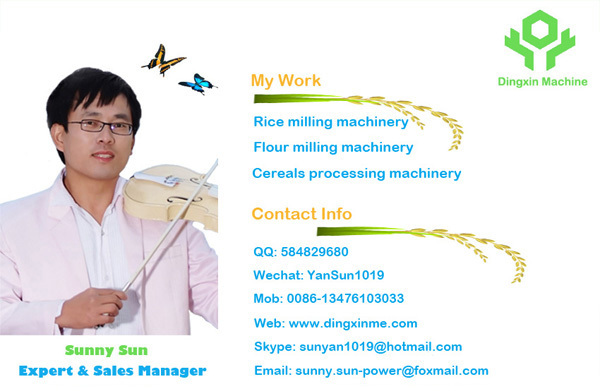 China Best Single Roll Rice Polishing Machine 6~8 t/h MPGV190