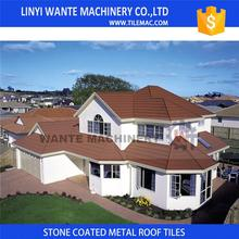 New product 2017 Wholesale Warehouse building material stone coated Kenya roof tile price with beautiful appearance