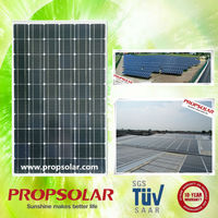 Propsolar monocrytallinel solar panel manufacturers in china TUV standard