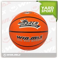 WINMAX 2015 hot sell size 3/5/7 high quality rubber basketballs/rubber ball for handball for sale