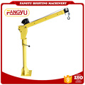 Factory directly sell small crane for pickup truck pick up crane