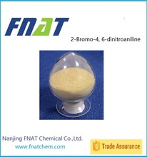 2-Bromo-4, 6-dinitroaniline C6H4BrN3O4 for dyestuff intermediate disperse dye