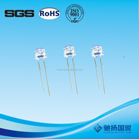 5mm 12v round super brightness led diode High Lumen led diode