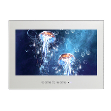 15.6 Inch Magic Mirror Led Backlit Mirror Waterproof Advertising TV