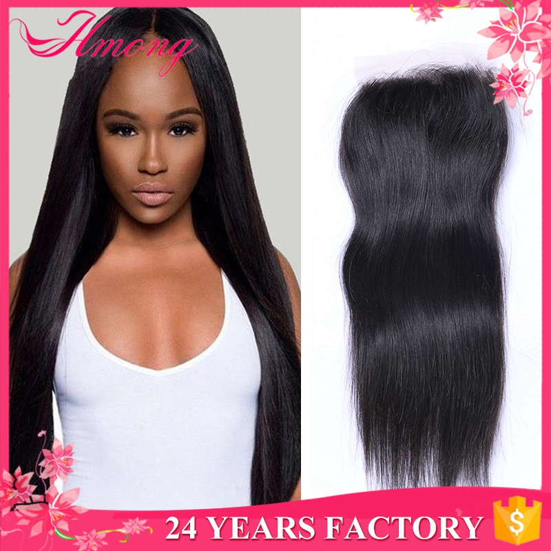 Wholesale Brazilian Hair 7A Remy Human Hair Extension Frontal Lace Closure With Bundles