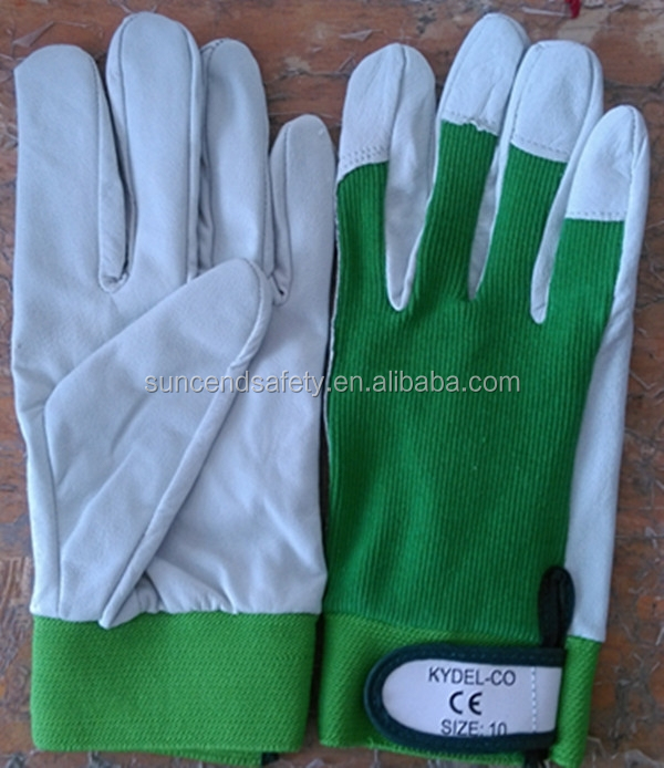 with 5 years experience pig leather golf glove