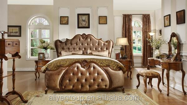 Mm8 master bedroom furniture sets modern turkish royal - Bedroom furniture made in turkey ...