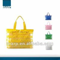 Colourful PVC Clear Beach Bag