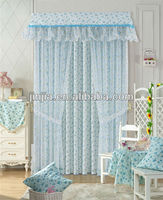 middle east style 2015 latest curtain styles golden colors