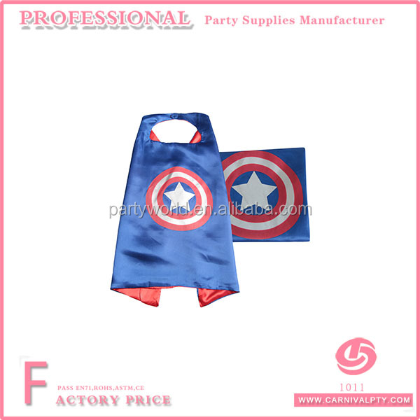 wholesale belly dance costumes Superman Kids Girl And Boy Cape and Mask Costume for Child
