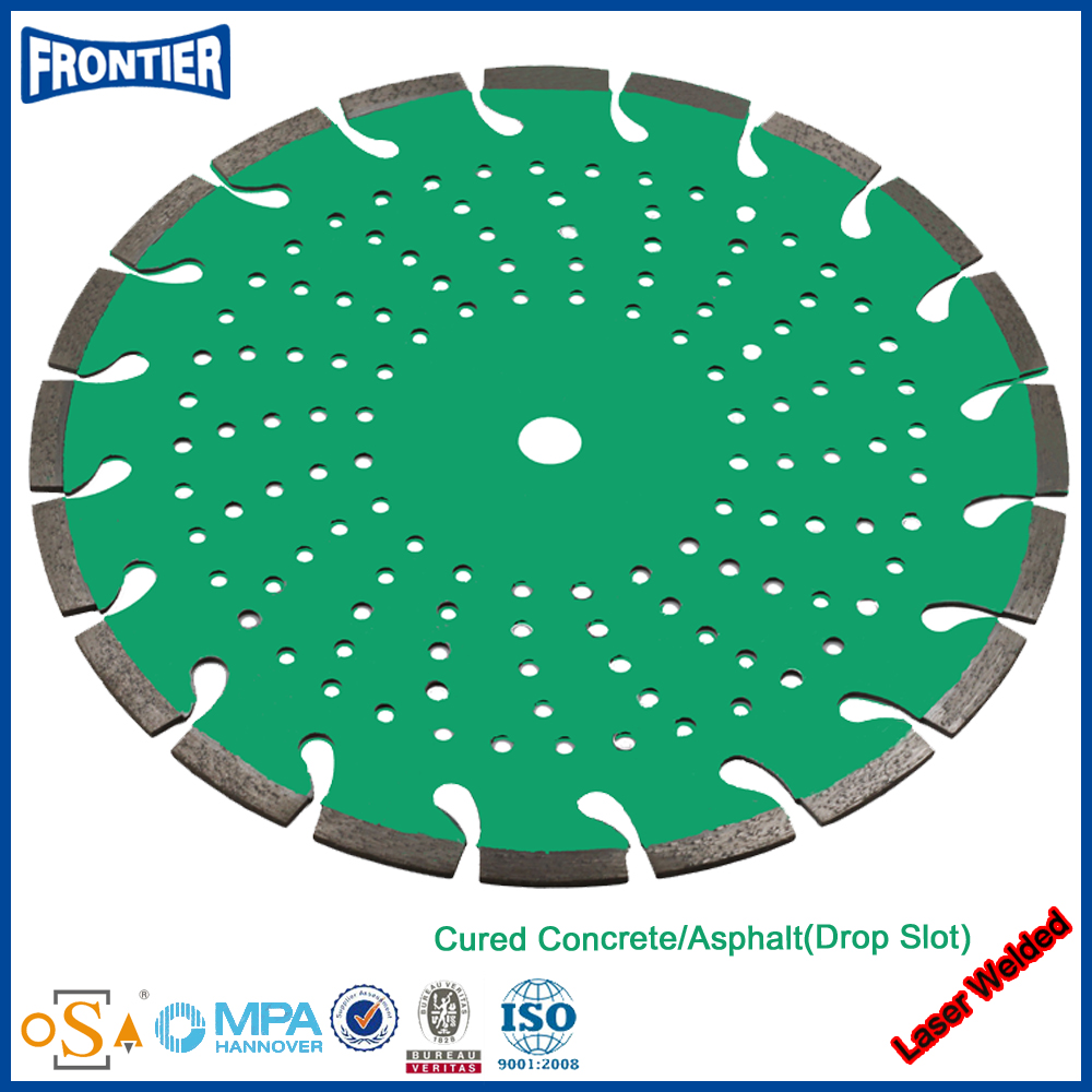 The Most Popular high polished laser welded turbo chain saw blade