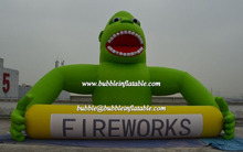 big inflatable gorilla for firework advertisement/inflatable balloon