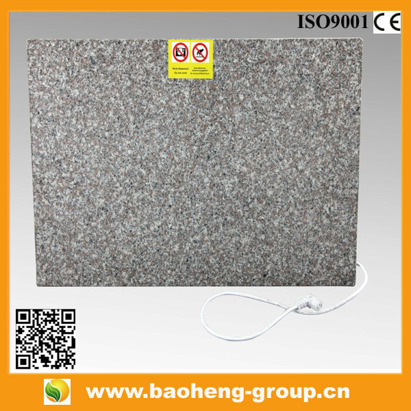 New Product Far Infrared Electrical Heating Granite Panel Infrared Heating Panel Garden <strong>heater</strong>